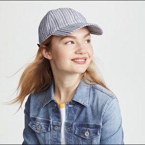 Madewell Accessories - Madewell Blue & White Baseball Cap 🧢 Never Worn